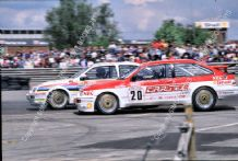 Ford Sierra RS500 Cosworth Mike Smith and Dave Brodie BTCC 1989 British GP round